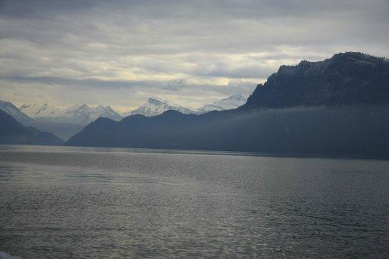 Lake Luzern: View from Lake Lucern cruise