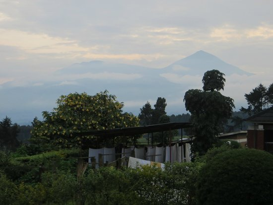 Kinigi Guesthouse: View from our room