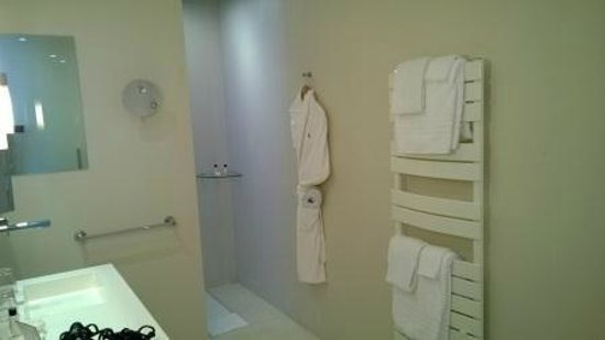 Hotel de Bourgtheroulde : walk-in shower