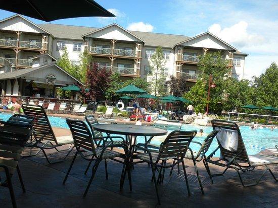 Marriott's Willow Ridge Lodge: swimming pool area