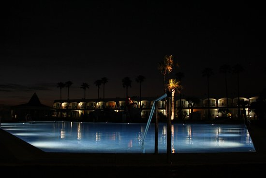 Iberostar Royal Andalus: la piscina de noche