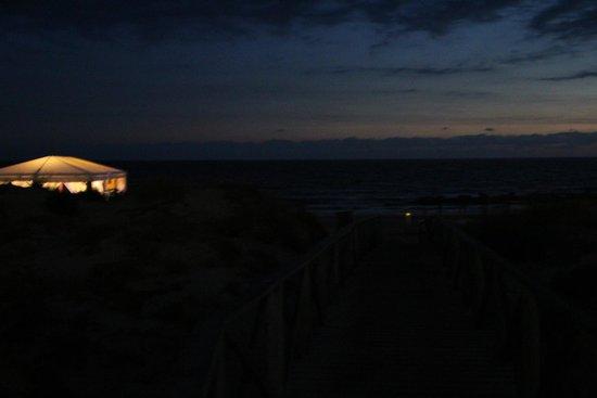 Iberostar Royal Andalus: el atardecer desde el hotel desde el bar de la playa