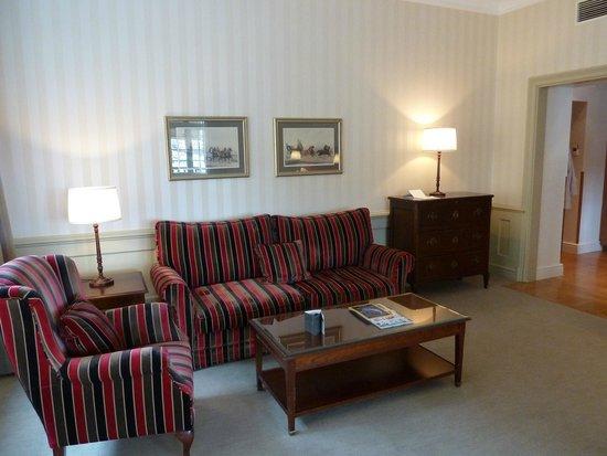 Grand Hotel : sitting area