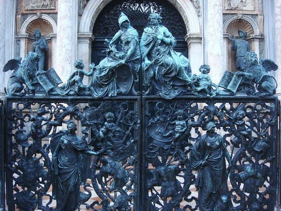 Piazza San Marco (Place St Marc) : Gate