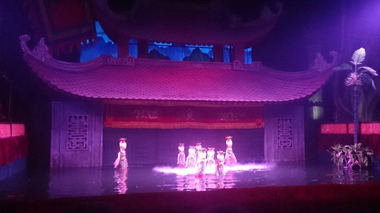 Thang Long Water Puppet Theater: Opening act