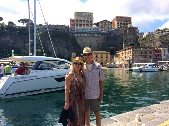 Palazzo Montefusco Sorrento : Boating with Ivan