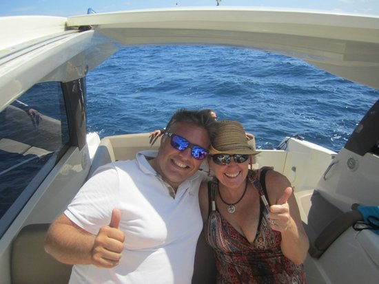 Palazzo Montefusco Sorrento : Our boat Captain - Ivan
