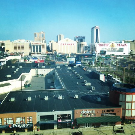 Sheraton Atlantic City Convention Center Hotel: View from room