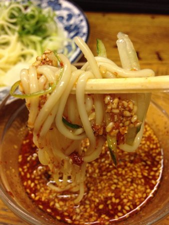 Wakabatei: Simple but tasty tsukemen. Ordered at 70x spiciness but it wasn't spicy.  Should have just order