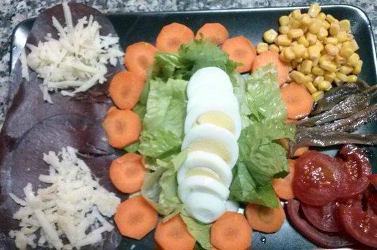 La Pizzoleria Ortigia: insalata mediterranea