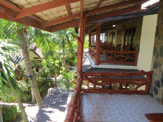 Neptune's Villa : Terrace