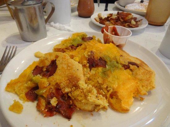 Pancake Pantry : Sante Fe Cornmeal Pancakes