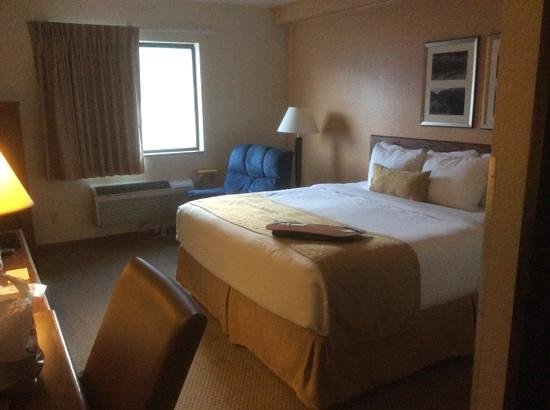 Quality Inn: first impression king room