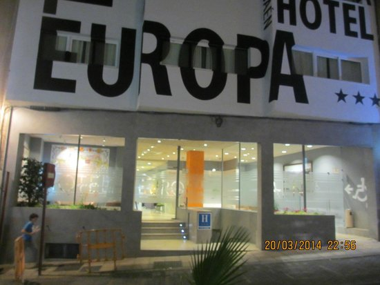 Hotel Europa: exteriores