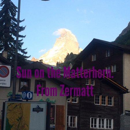 Matterhorn: View from Zermatt