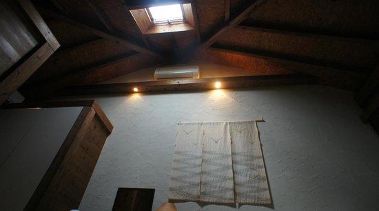 Nilaina Resort : 天窓があり天井が高い