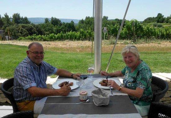 Le Bistrot de la Coquillade: Martine en Luc