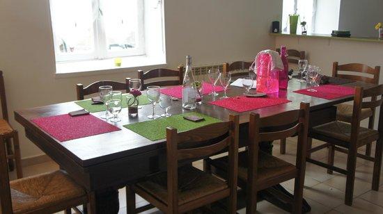 Aux Saveurs de Marsilly : table acidulée