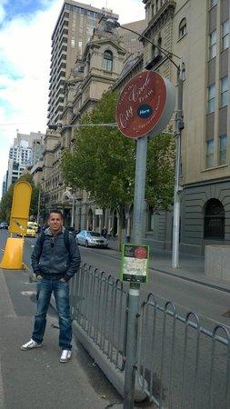 City Circle Tram: la fermata del parlamento