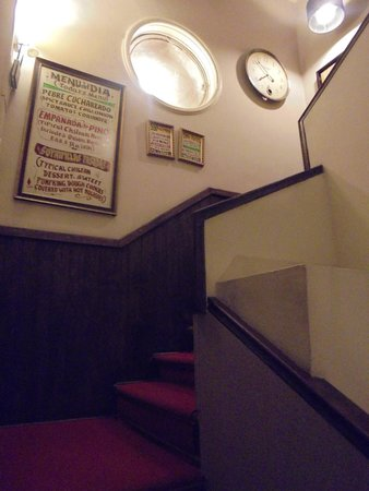 Mito Casa Hotel: Escadaria