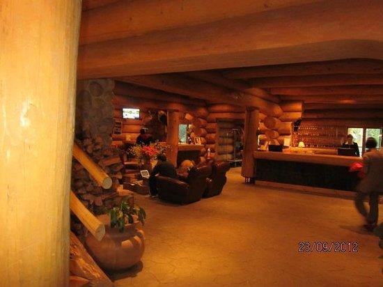 Hotel Sacacomie: Hall d'accueil