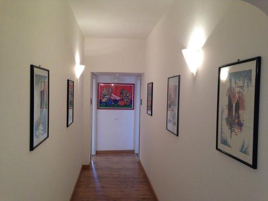 Al Vicoletto : corridoio