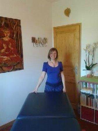 château le Martinet : catherine masseuse