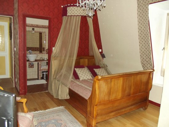 château le Martinet : chambre Moliere