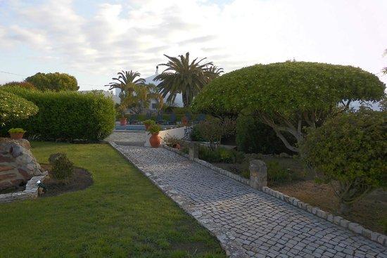 Romantik Villa: L'entrée