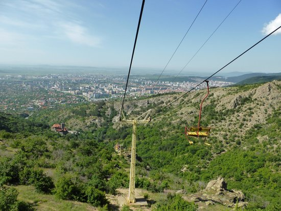 Blue Mountain Chairlift: View of Sliven