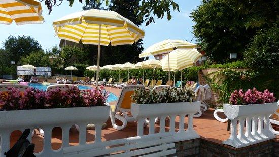 Hotel Villa Mulino: Pool /Garden