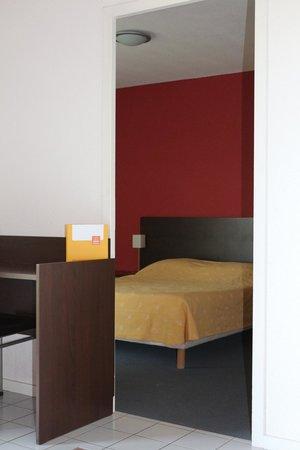 Zenitude Hôtel-Résidences La City : Vue de la chambre