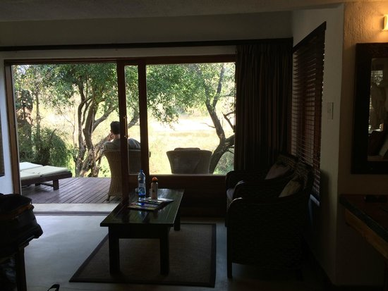 Serondella Game Lodge : Afternoons on the private deck