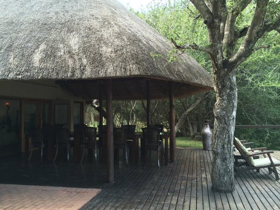 Serondella Game Lodge : Eating area