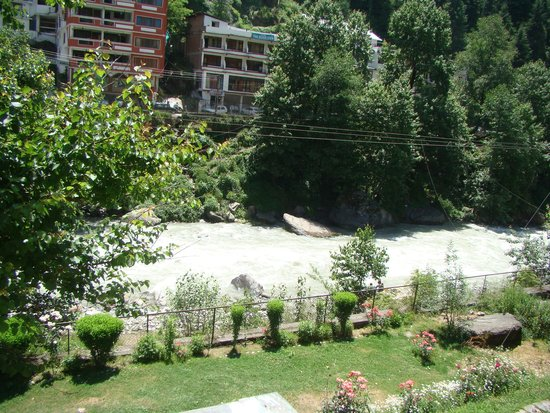 Hotel Beas (HPTDC) : The view of Beas from room no - 205