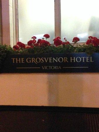 The Grosvenor Hotel : ужасный отель