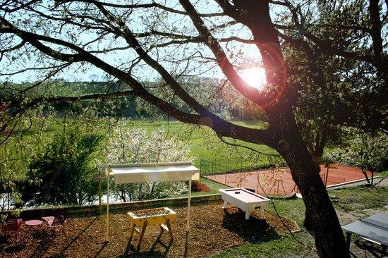 Le Mas de Fontefiguieres : Des activités de loisir et de détente sont à libre disposition