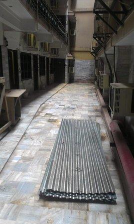 Deep Avadh: corridor to the rooms