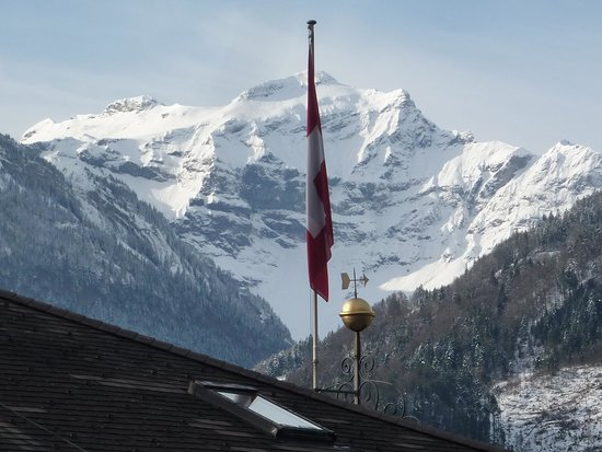 Hotel Royal St. Georges Interlaken - MGallery Collection : View from the room to the front