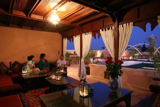 Riad Nasreen: Terrace / terrasse