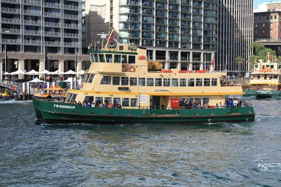 Manly Ferry : Manly Ferries from Circular Quay
