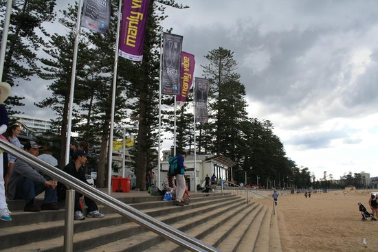 Manly Ferry : Manly beach