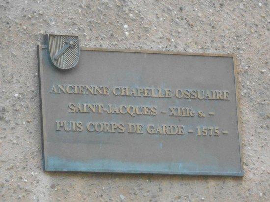 Église Saint-Martin : Ancien corps de garde 17.05.2014