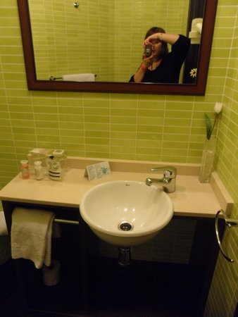 Hostal Venecia: Coin lavabo