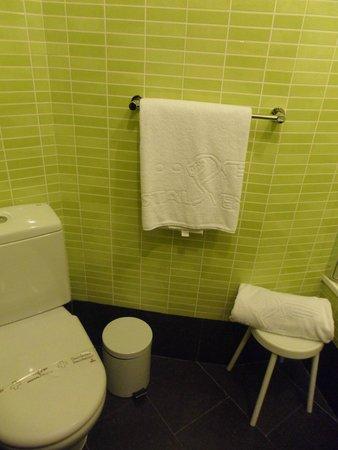 Hostal Venecia: Coin toilettes