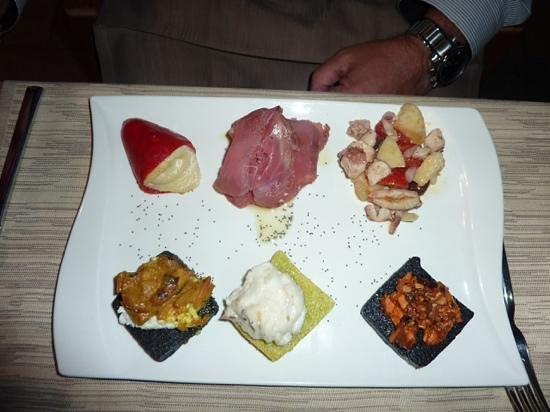 Osteria Bancogiro : Seafood platter a la Bancogiro.  Wow!!