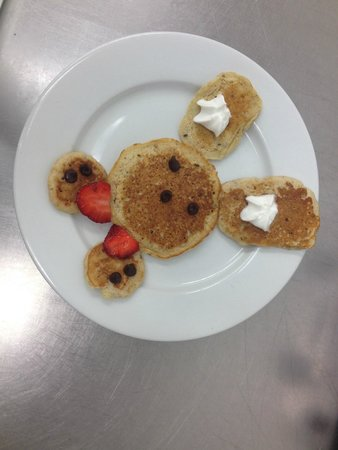 The Fruit Bowl & Breakfast Bar: Kids Pancakes for Easter 2