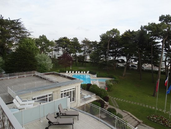 Piscine Ext Rieure Photo De H Tel Barri Re Le Royal La