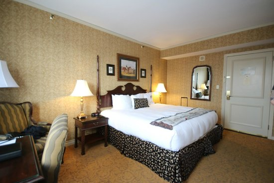 The Brown Hotel: our room