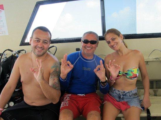 Aqua Safari Dive Shop: Instrutor